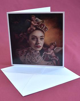 Crowns and Cherubs card