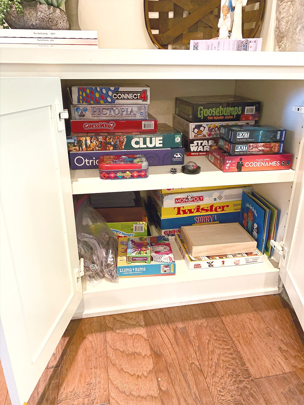 game room cabinet