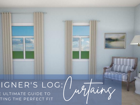 Designer's Log: Curtains ... The Ultimate Guide to Getting The Perfect Fit