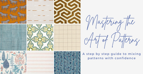 Mastering the Art of Patterns - an interior designer's guide to mixing patterns with confidence
