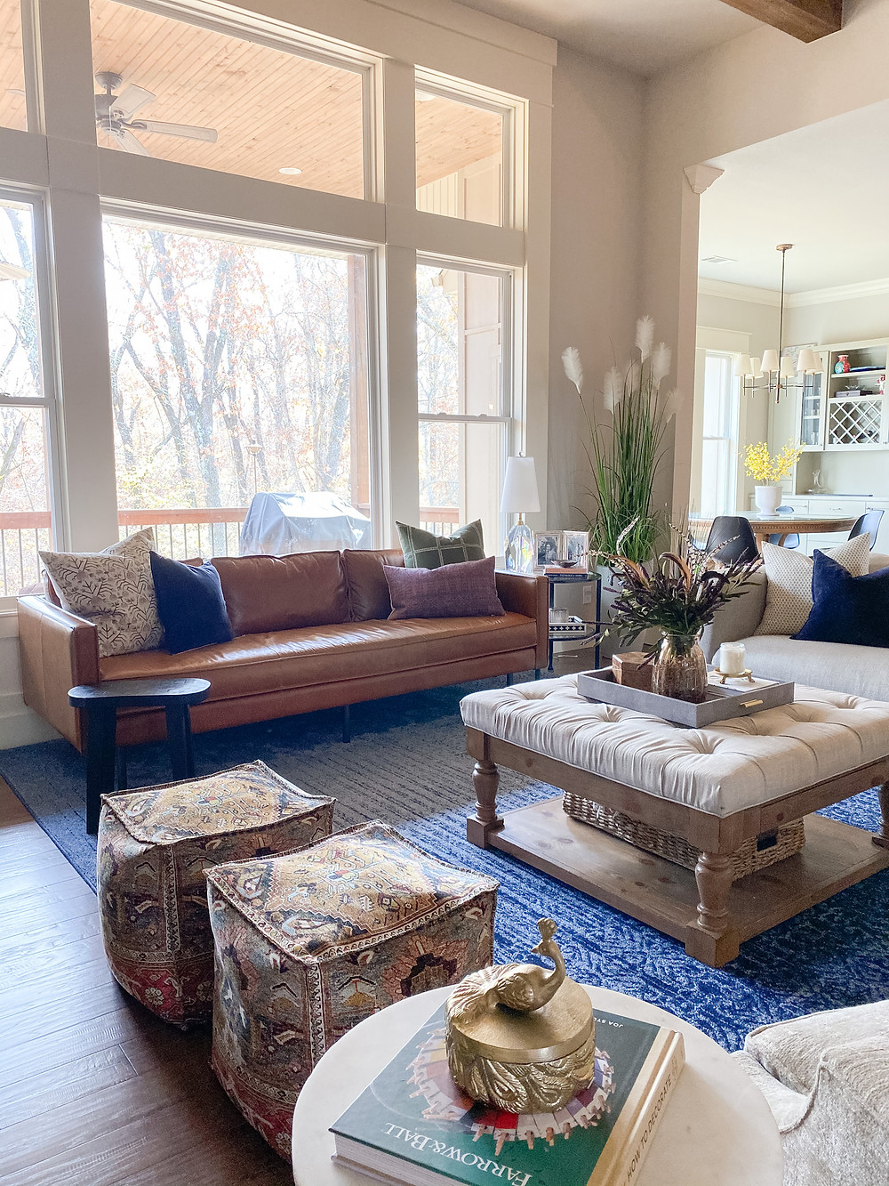 The Falls Classic Boho Family Room