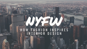 What the 2020 NYFW runway has to say about interior design trends