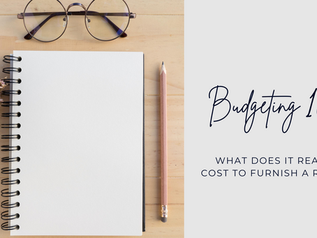 Design Budgeting 101: What does it REALLY cost to furnish a room?