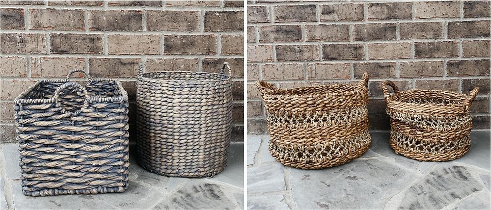 Front Porch baskets