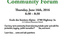 DWS Community Forum, June 16th