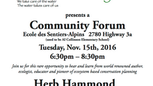DWS Community Forum - Nov 15th