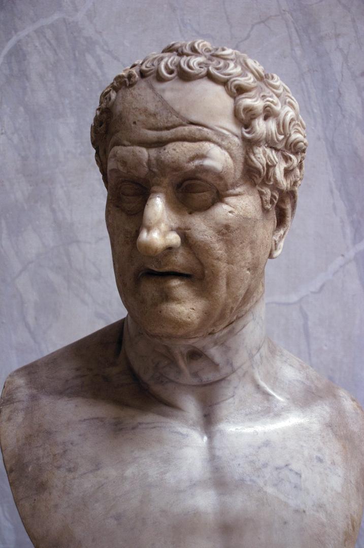 Roman portrait bust (Sulla?)