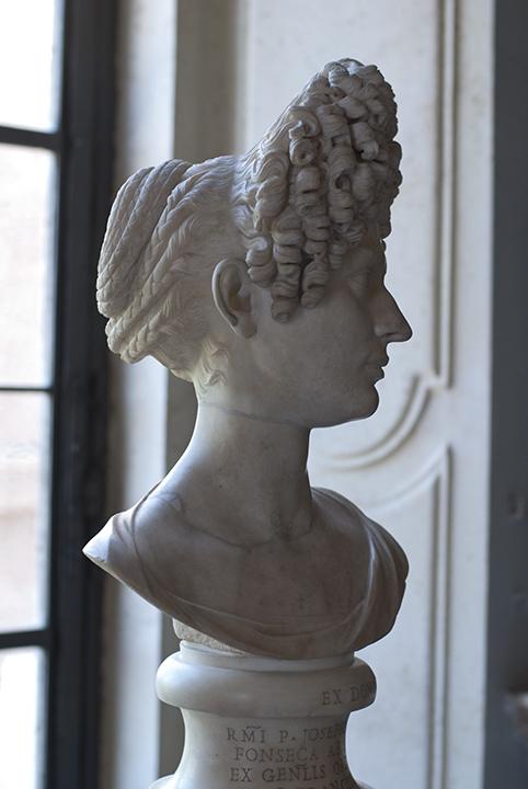 Flavian hair