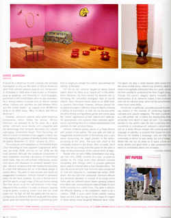 Chido Johnson review in Art Papers