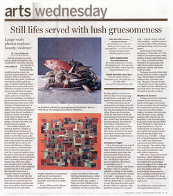 Tara Sellios review in Globe