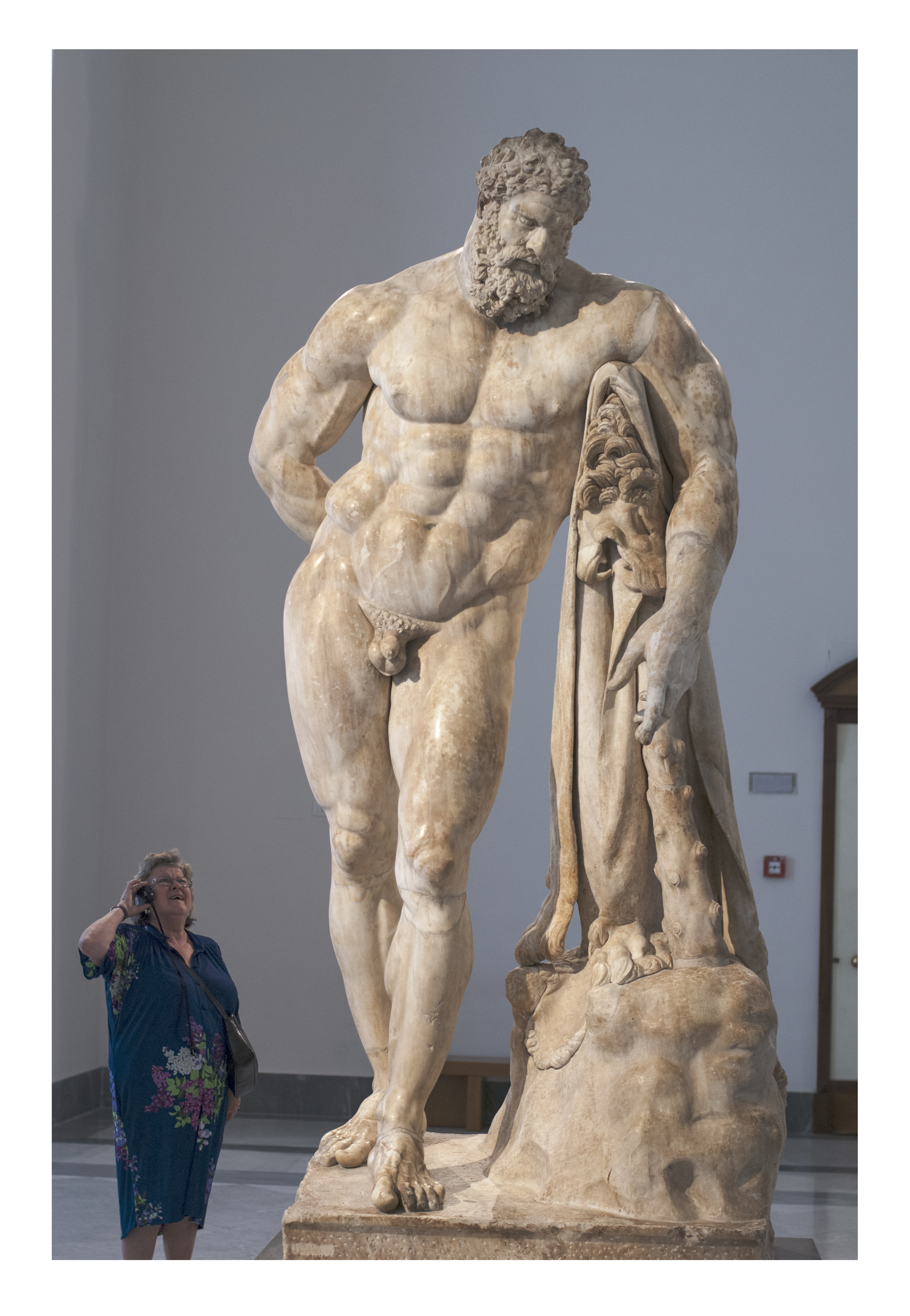 Farnese Hercules, Naples