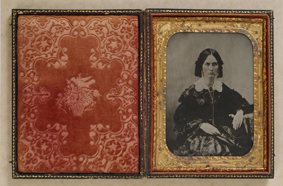 ambrotype Susan Payne c. 1865