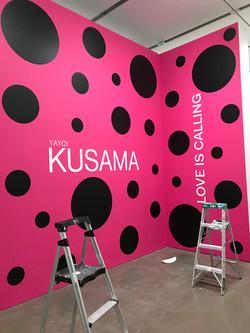 "Kusama ""Infinity Room"" at ICA"