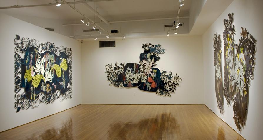 Resa Blatman at Suffolk Art Gallery