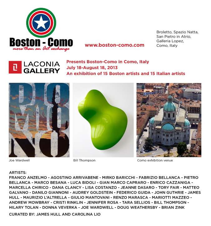 Boston / Como Exhibition