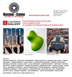 Boston / Como Exhibition
