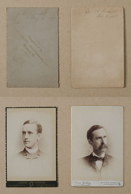 cabinet cards front and backs
