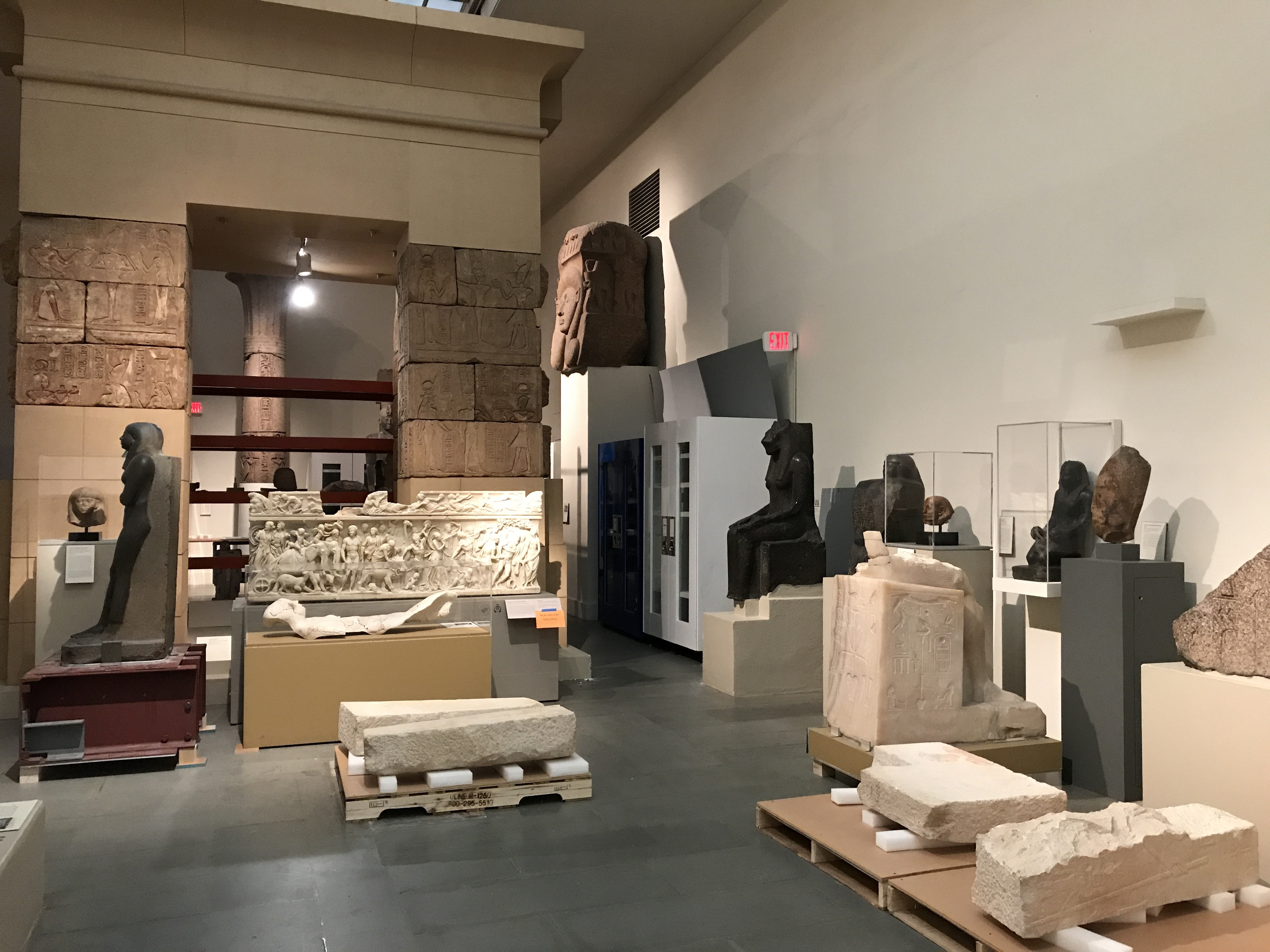 MFA temporary storage gallery