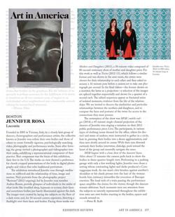 Jennifer rosa review AiA 2014