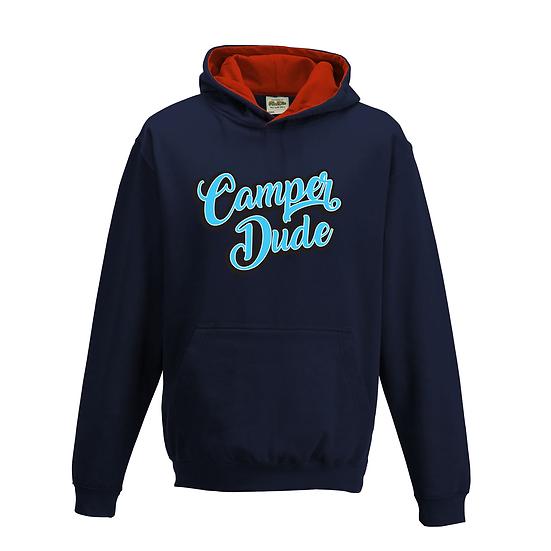 Camper Dude Hoodie - Navy