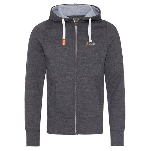 Charcoal Premium Zip Hoodie