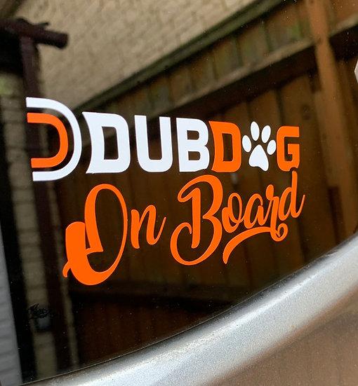 DubDog Sticker
