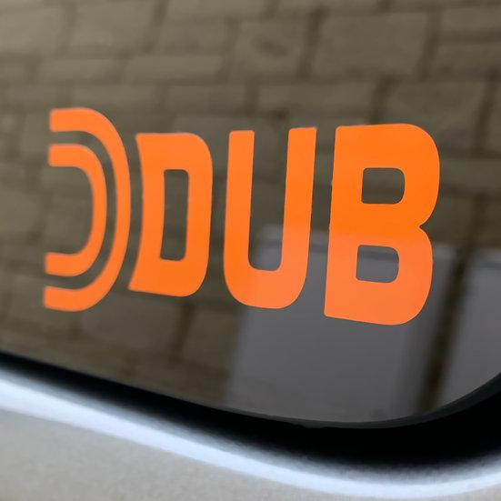 FREE Dub Sticker