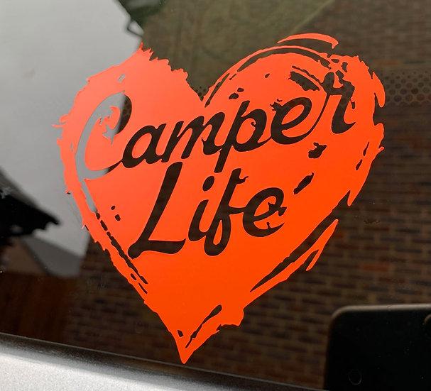 Camper Life Sticker