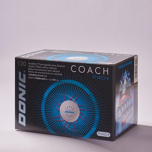 Coach P40+ Ball (120 Balls)