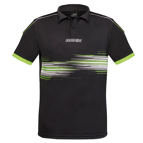 Race Polo-Shirt (Black)
