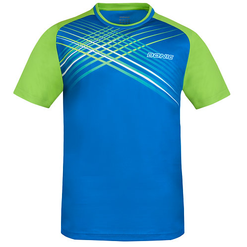 Attack T-Shirt (Blue/Lime)