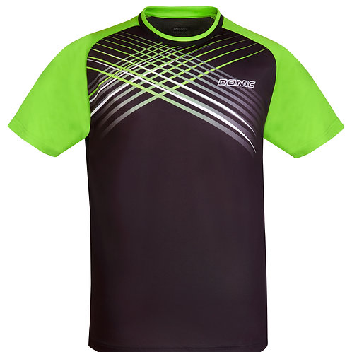 Attack T-Shirt (Black/Lime)