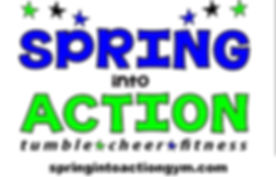 spring into action, cheer tumble fitness in Mebane NC""