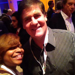 with Mark Cuban at Business Insider