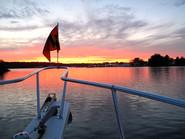 Red Sky at Night, Reedville, VA