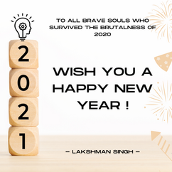 happy new year 2021 by Lakshman Singh.pn