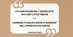 dollar business appreciation quote by La