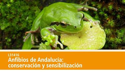 Anfibios de Andalucía: conservación y sensibilización