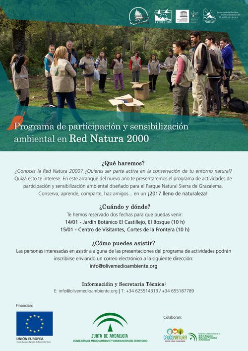 Programa de Participación y Sensibilización Ambiental en Red Natura 2000 - PN Sierra de Grazalema