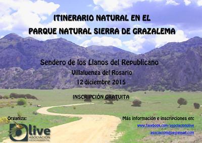 Llanos del Republicano. Itinerario natural en el Parque Natural Sierra de Grazalema