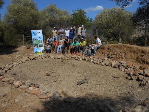 Restauración de un punto de agua para fauna