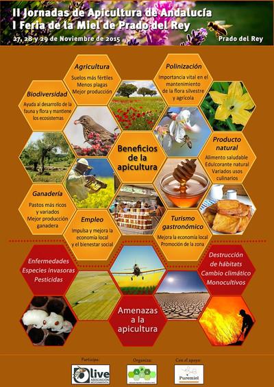 Miel y biodiversidad. O-Live presente en la I Feria de la Miel de Prado del Rey