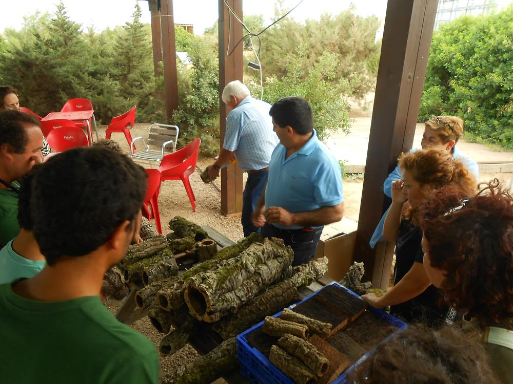 taller de corcho