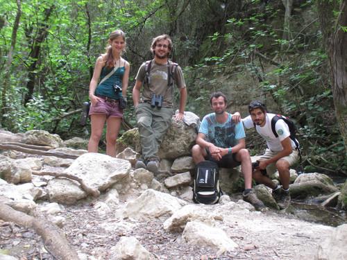 O-Live participa en Andarríos en el río Majaceite