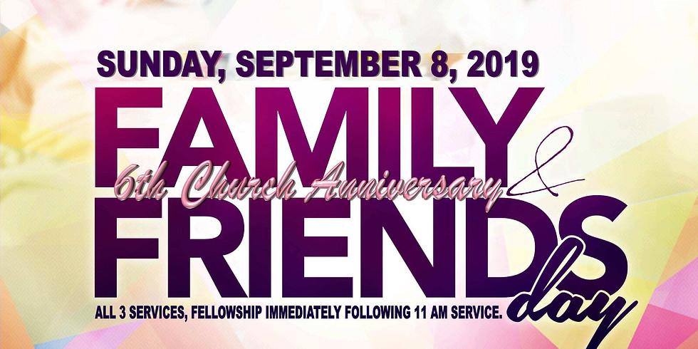 6th Church Anniversary