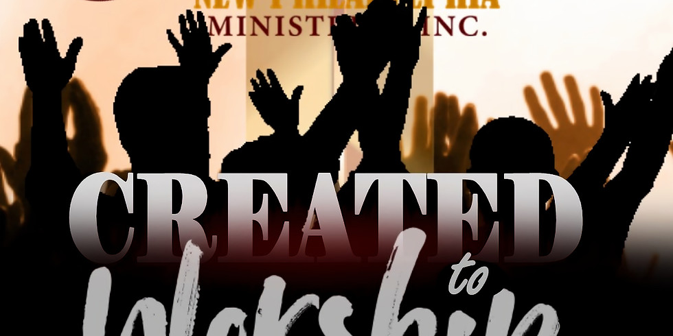 Created to Worship Missions Concert