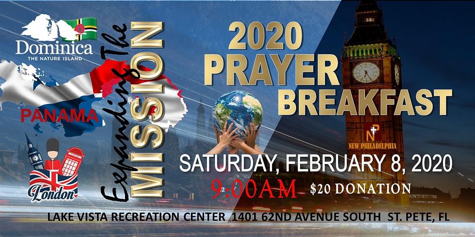 Prayer Breakfast Fundraiser