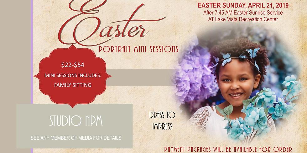 Easter Portrait Mini Sessions