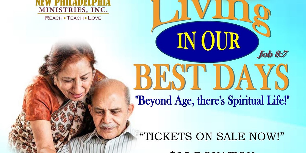 Living in our Best Days Senior's Conference