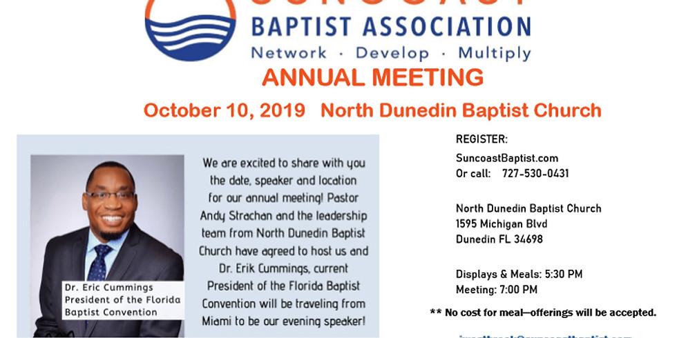 Annual Suncoast Baptist Association Meeting